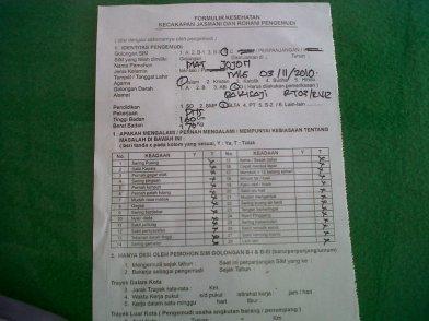 Urus perpanjangan SIM di SATPAS SIM Polres Malang (1)