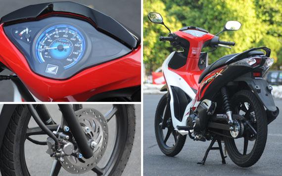 Honda Supra X 125 Helm In Cingkrang Kakinya Kekecilan