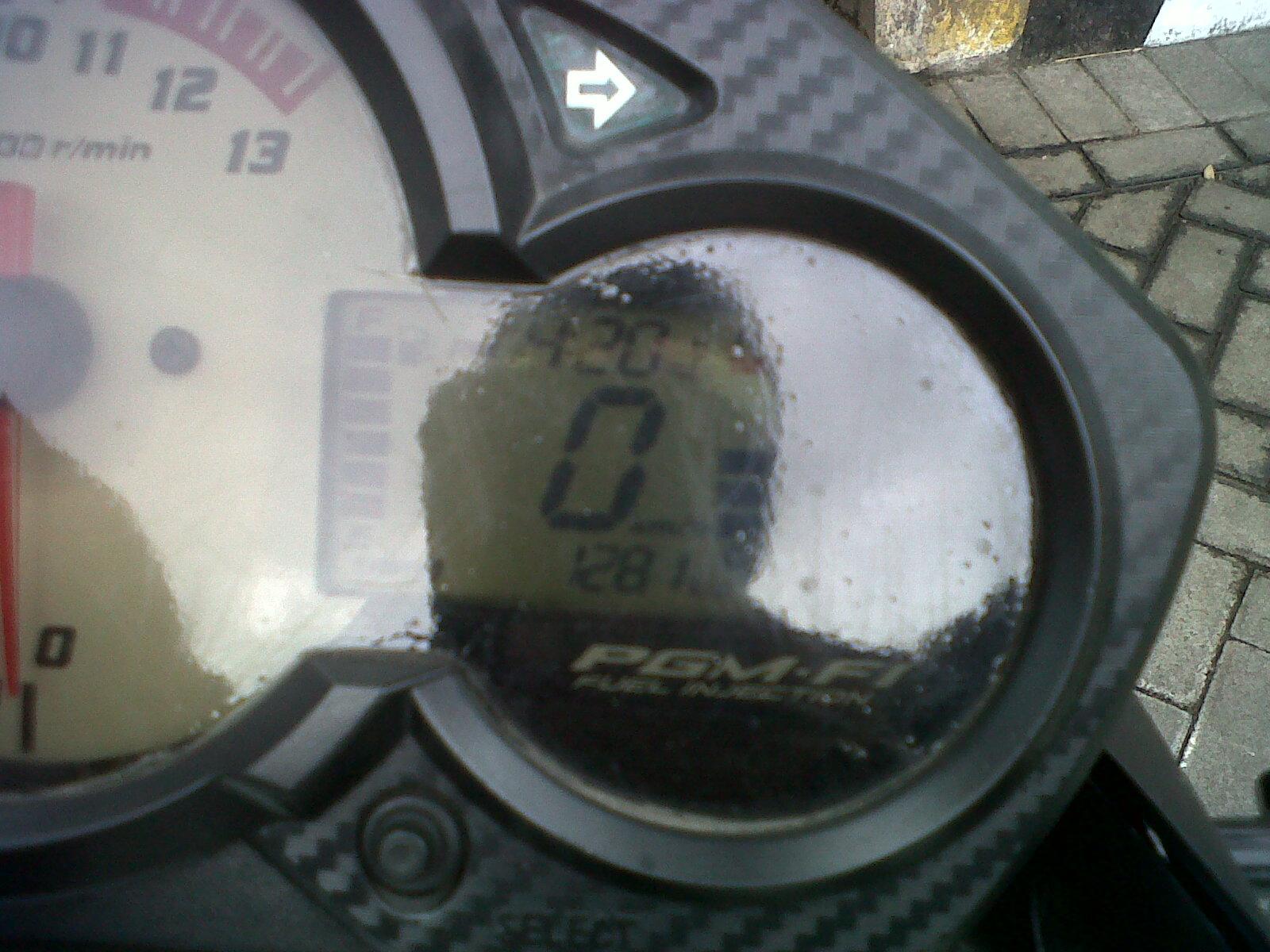 Konsumsi BBM CB150R saia setelah 13.000 km lebih
