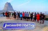 Jatimotoblog di Pantai Papuma