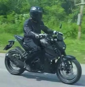 Yamaha-MT-15-Spy-Shot