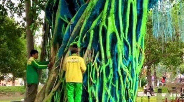 Malangnya Nasib Pohon Beringin Alun Alun Malang Sekedar Coretan