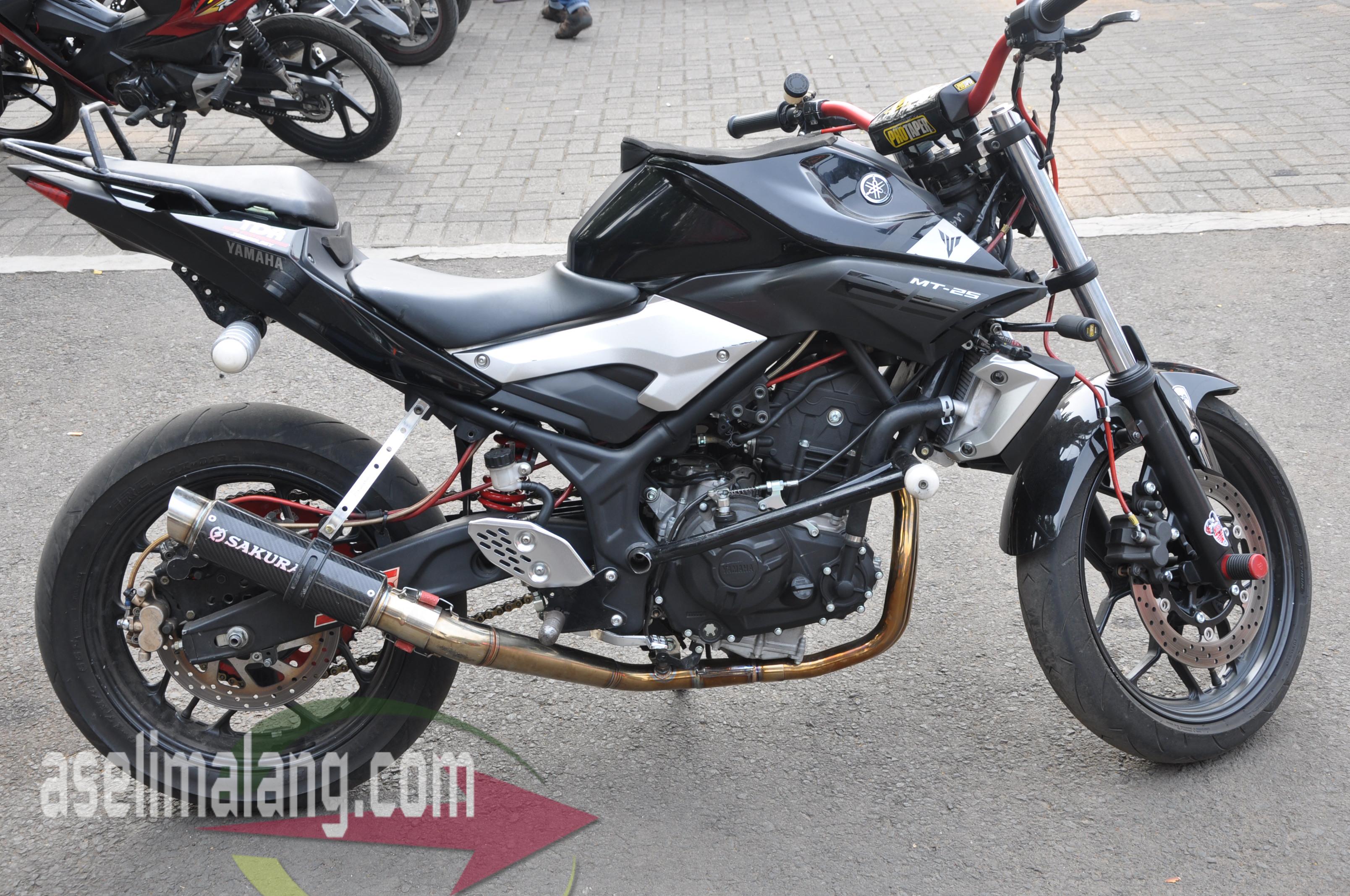 Modifikasi Yamaha Mt 25 Wawan Tembong Sekedar Coretan