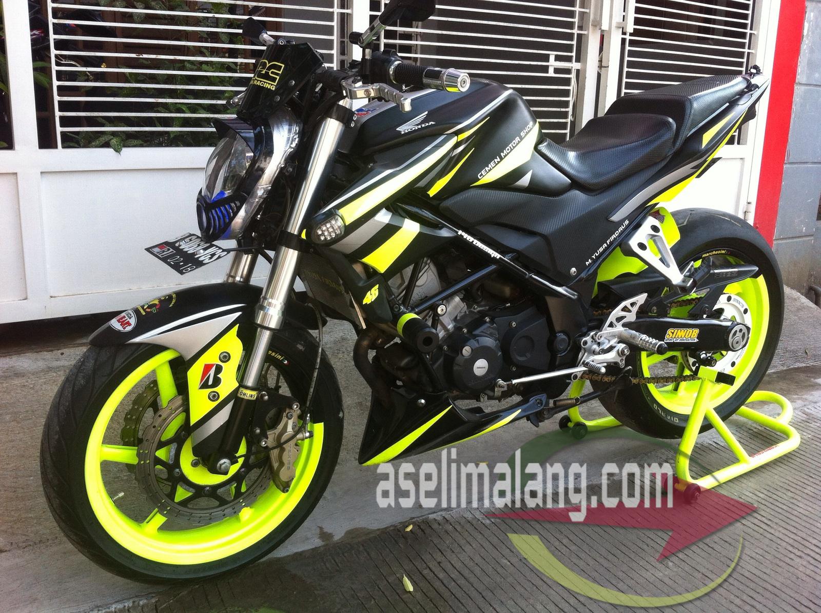 108 Modifikasi Motor Cb 150 R Warna Hitam Modifikasi Motor Honda