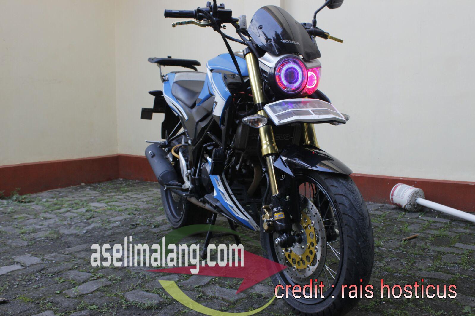 Honda Old CB150R Jari Jari Super Lebar