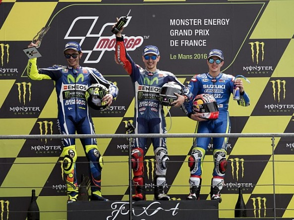 podium lemans