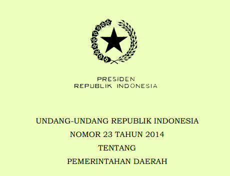 uu 23 2015 pendidikan