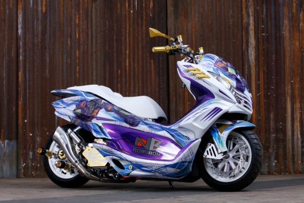 Honda PCX jawara Matic National Champion, karya Peterson Rvai
