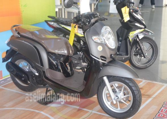 Sosok All New Honda Scoopy Nongol Di Malang Idr 18 9 Juta Sekedar