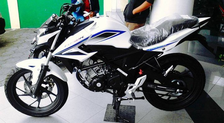 Modifikasi Honda New Cb150r Putih Hitam Plus Upside Down