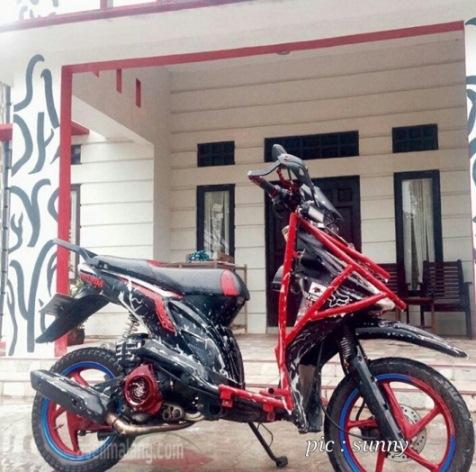 Modifikasi Honda Beat Tubular Sekedar Coretan