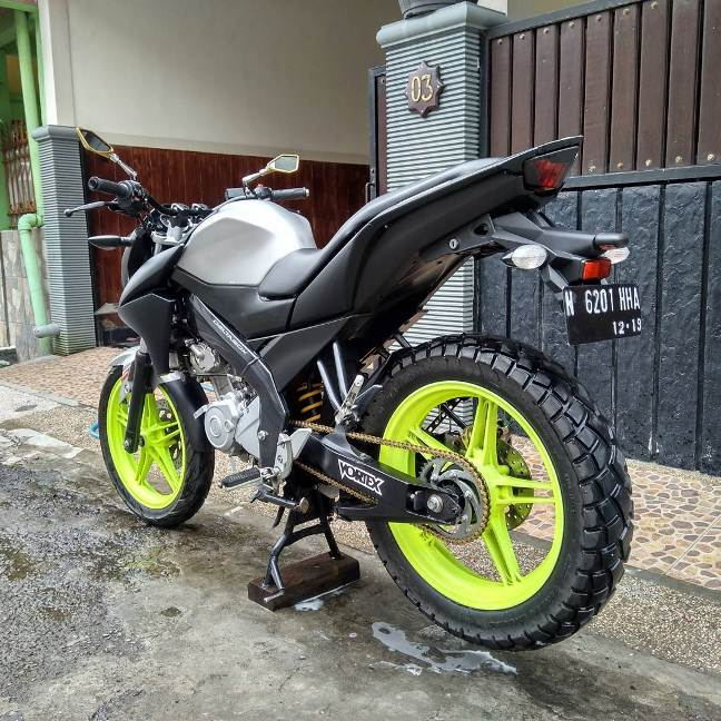 Modifikasi Tiada Henti Yamaha New V Ixion Lightning Aseli Ngalam