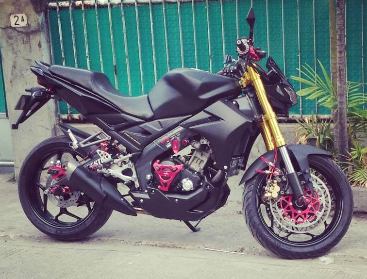 Modifikasi Yamaha Vixion Makin Garang Dengan Headlamp New X Ride