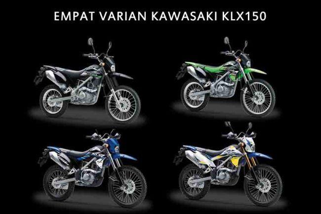 Kawasaki Klx 150 Bf Se 2018 Grafisnya Garang Nih Ready Di Malang