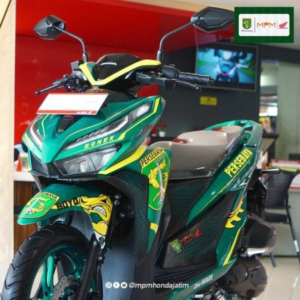 Terjual 29 Juta Honda Vario 150 Livery Persebaya Sekedar Coretan