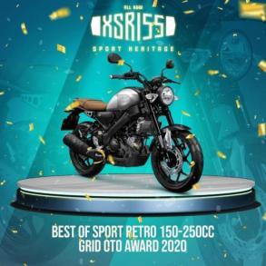 XSR 155 (Best of Sport Retro 150 - 250 cc)