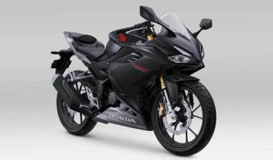 All New Honda CBR150R matte black
